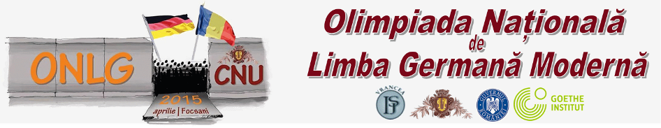 Olimpiada Nationala de Limba Germana Moderna